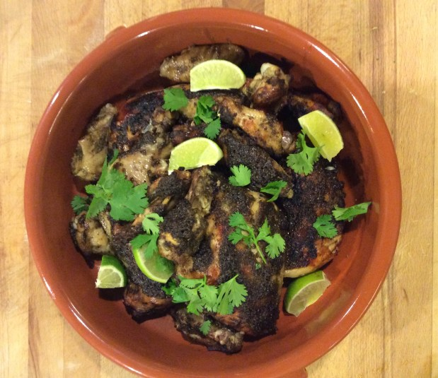 October in the kitchen – Jerk Chicken in a Slow Cooker