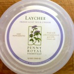 Penny Royal Laychee fresh goat cheese