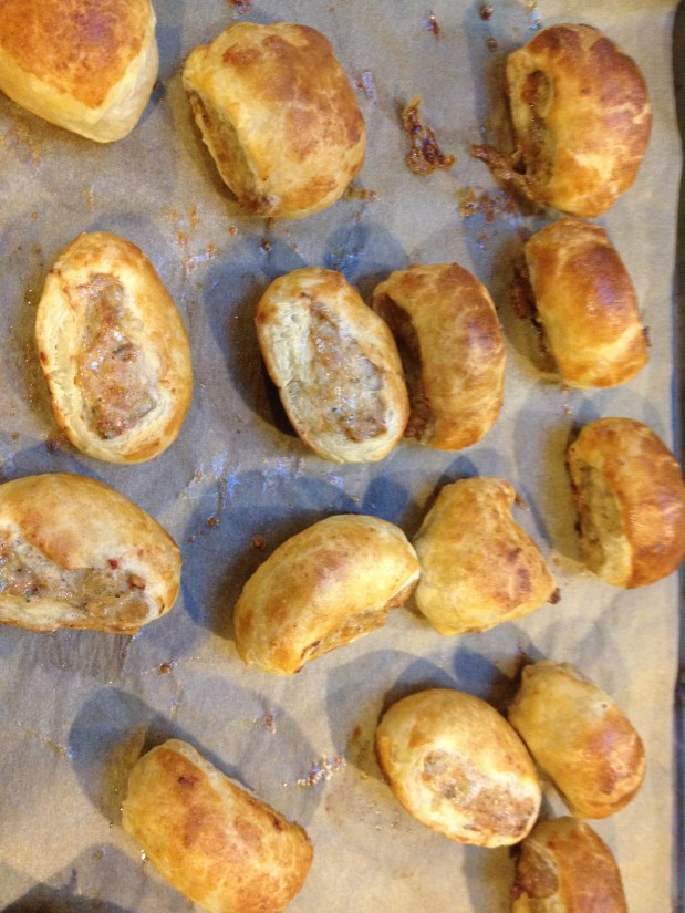 January in the Kitchen – Sausage Rolls