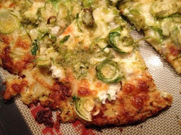 January in the kitchen – Cauliflower Crust Flatbread or Pizza