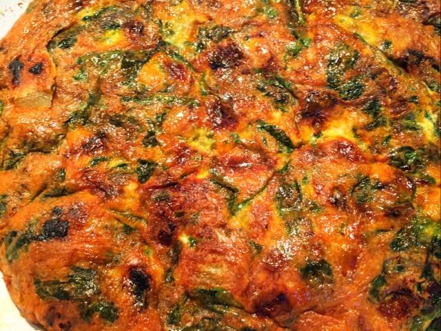Persian Spinach Kuku