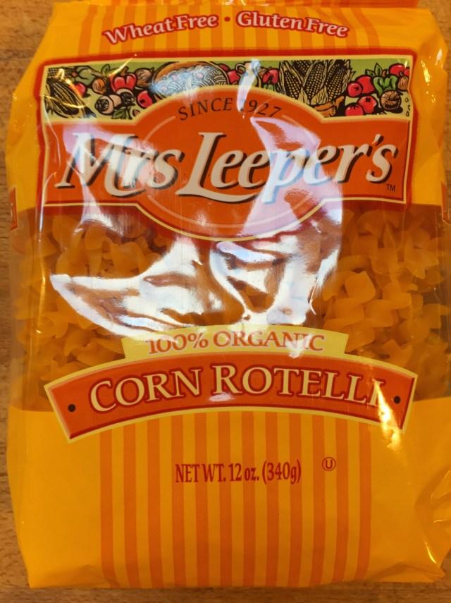Gluten Free Pasta - Corn Rotelli