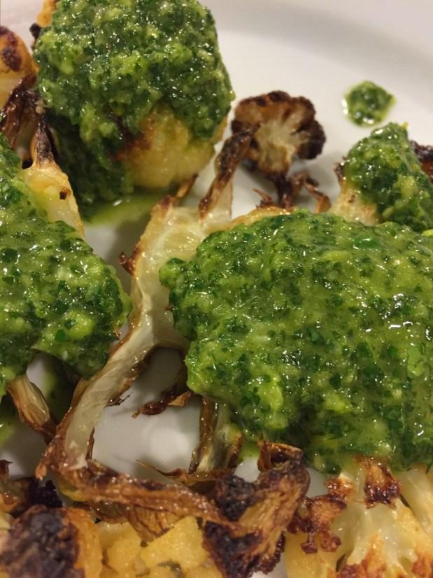 March in the Kitchen – Spicy Lemon Salsa Verde