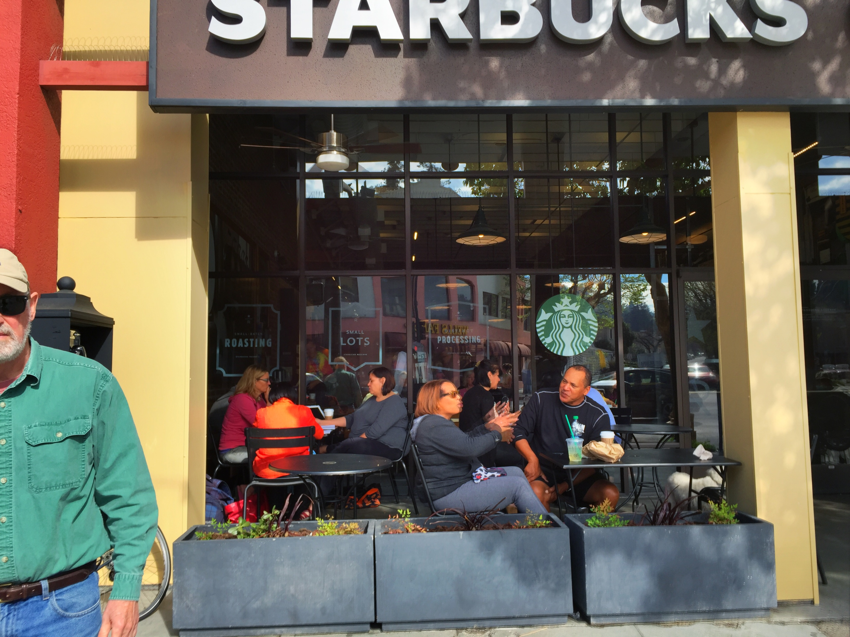 There is always a Starbucks on every corner
