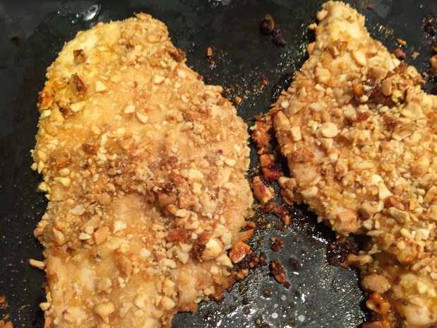 November – Cashew-Crusted Chicken Breasts