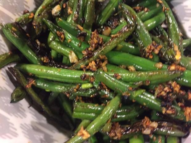 November – Dry Fried Green Beans