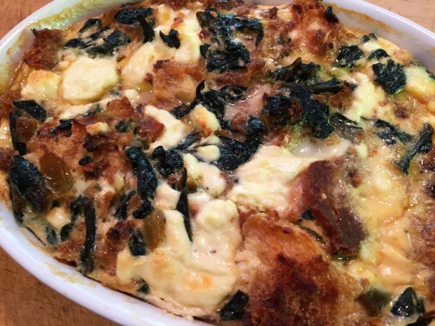 December – Kale and Caramelized Onion Stuffing