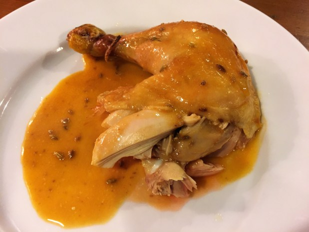 January – Romertopf Clay-Baked Chicken
