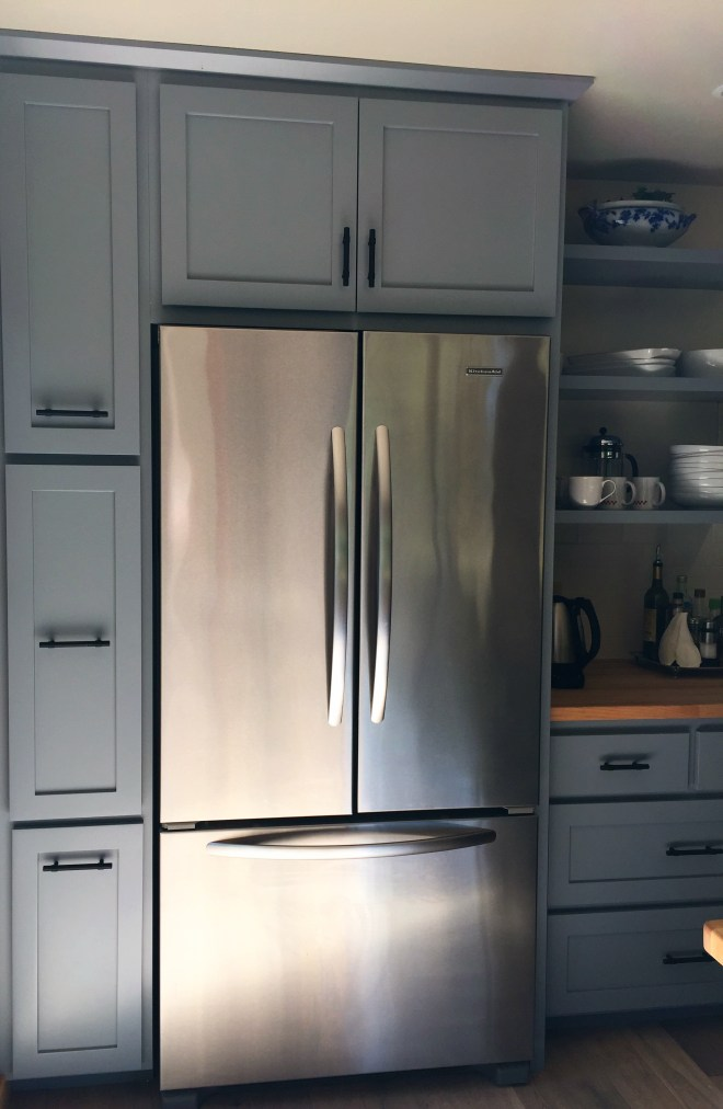 After - New Fridge
