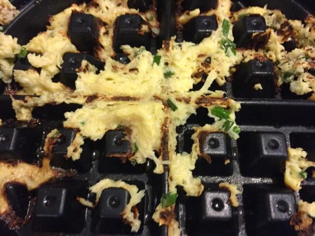 September – Failure of Cauliflower Waffles