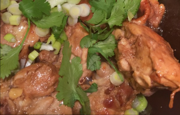 February – Quick Chinese Chicken