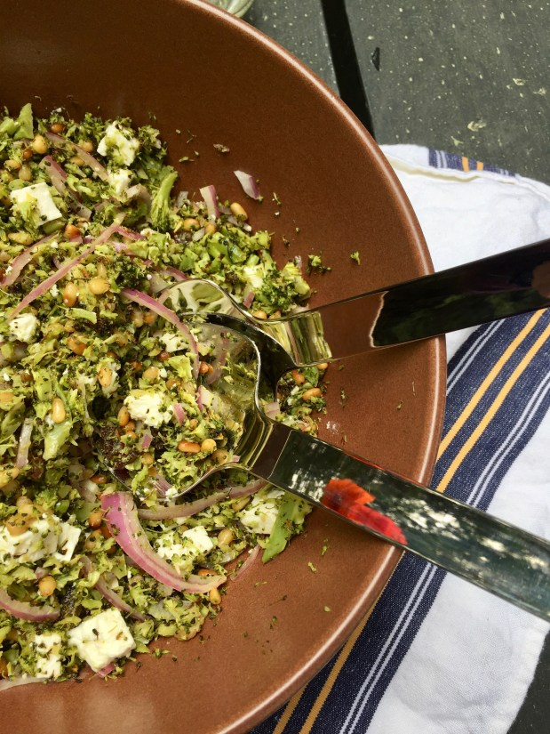 May – Broccoli Salad to Bridge the Seasons