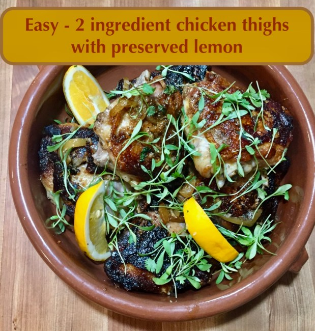 November – A Simple Way to Cook Chicken Thighs