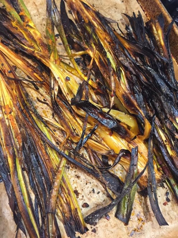 November – Palm Tree Leeks