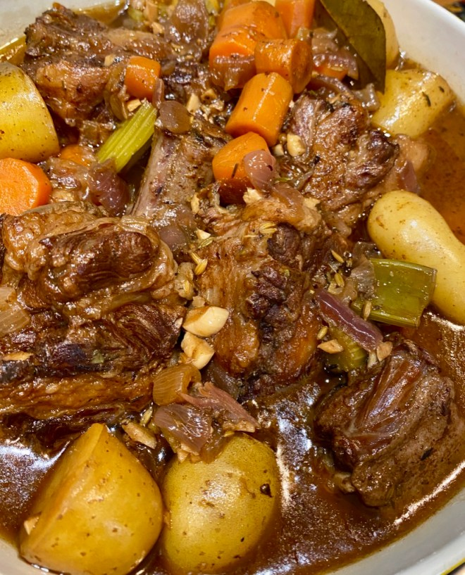 Instant Pot Ox-Tail Stew