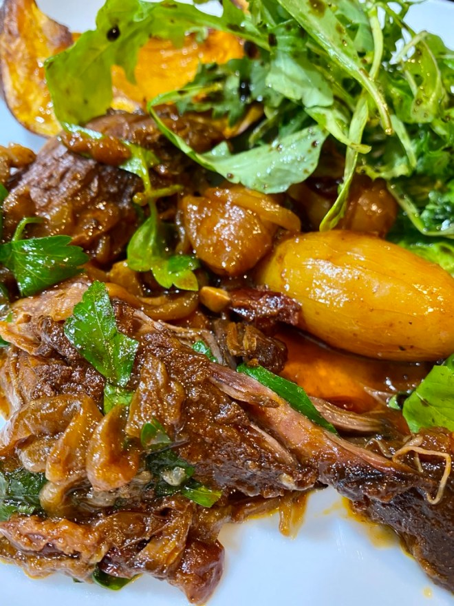 Spice-Rubbed Braised Beef