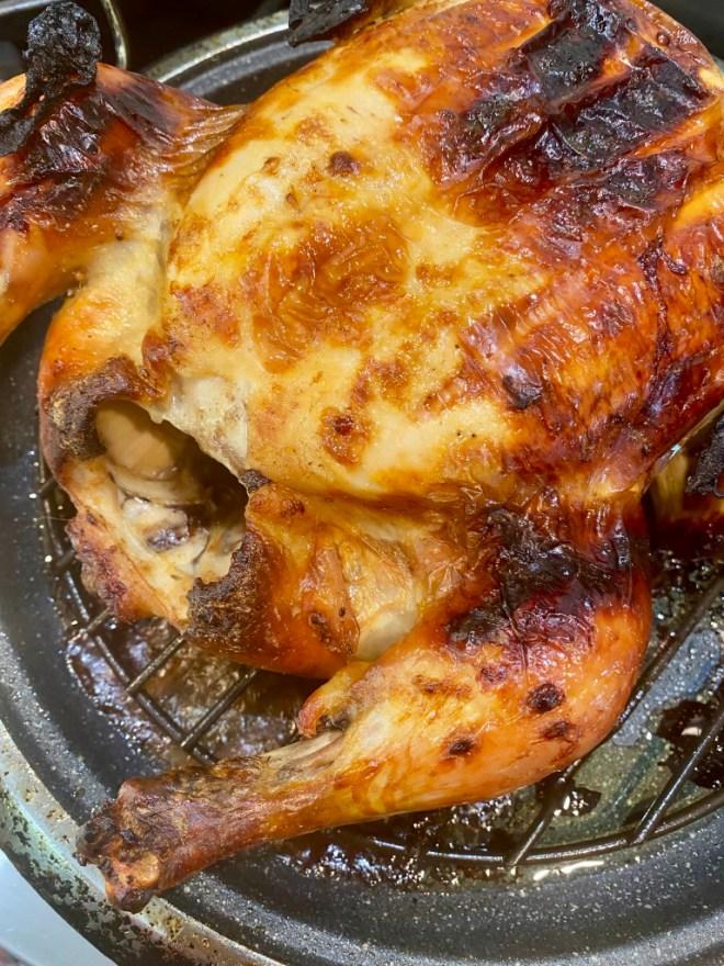 Buttermilk Brined Roast Chicken