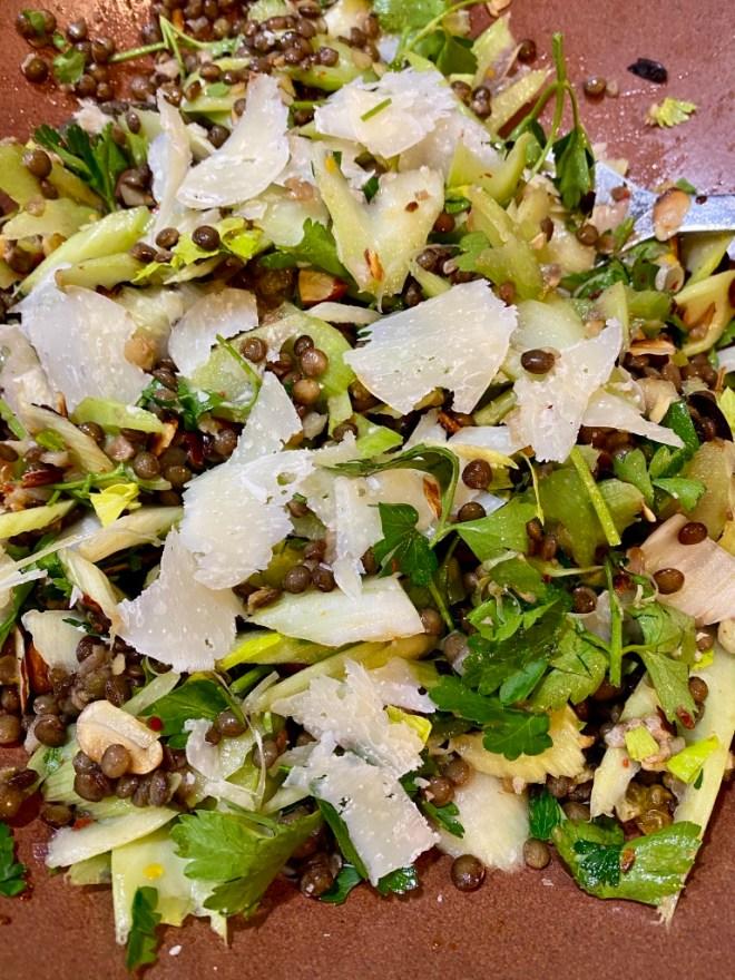 Celery and Lentil Salad