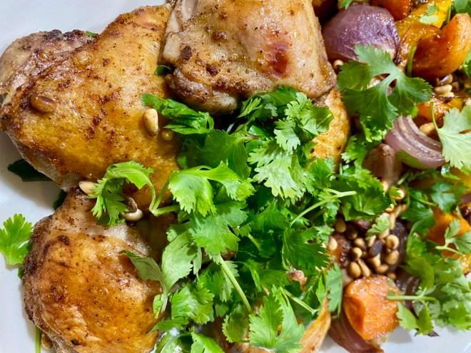 Sheet Pan Chicken with Baharat