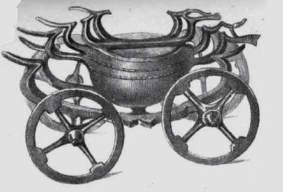 Orastie Celtic cauldron