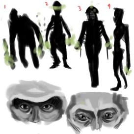 The Alien - Character development