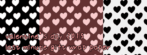 Valentines Day 2015 - Giftwrap!