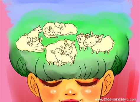 WIP: Lunar New Year 2015 illustration
