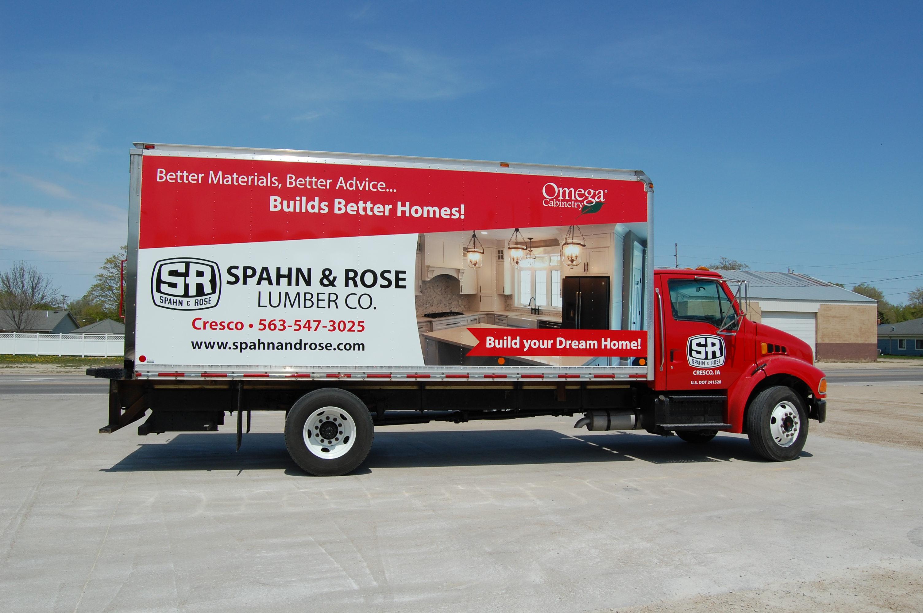 Spahn & Rose Deliver Truck