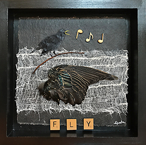 art Blackbird Assemblage