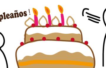 スペイン語でお誕生日おめでとう