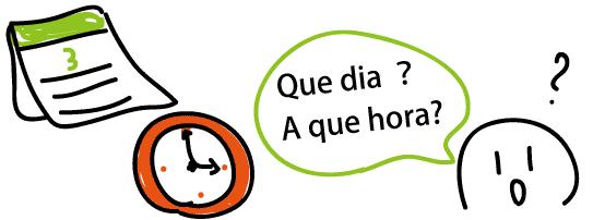 スペイン語 何時? どの日?