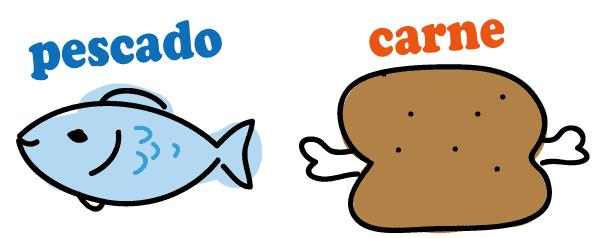 スペイン語 魚 肉 ペルー