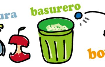 スペイン語 捨てる ゴミ