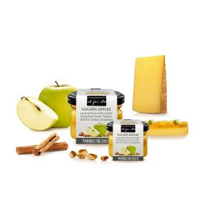 Cheese pairing golden apple