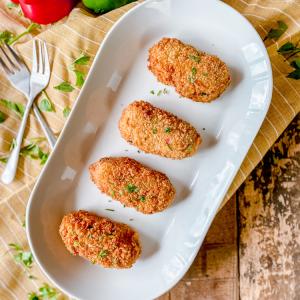 Crispy Spanish Vegetable Croquettes