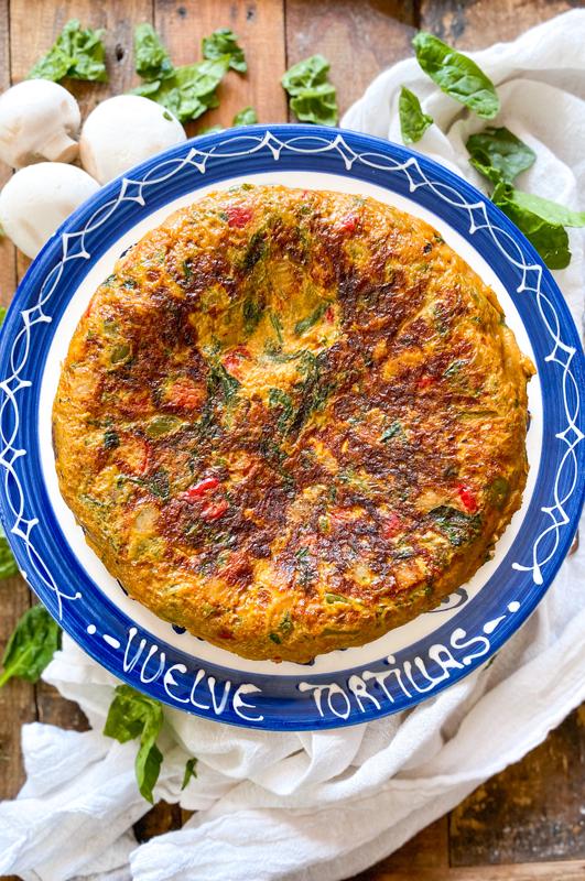 The Greatest Vegetable Omelette