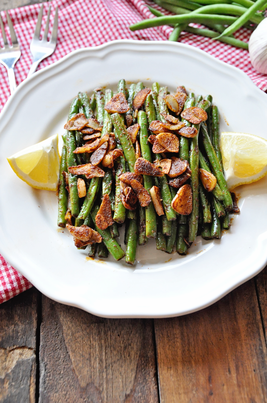 Spanish Green Beans with Garlic and Paprika