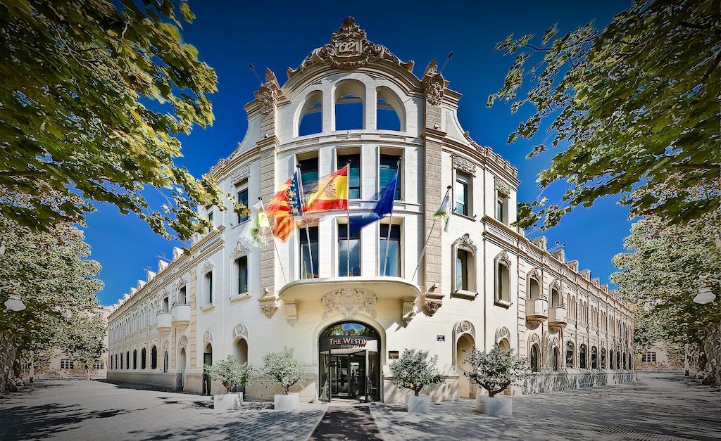 westin luxury hotel valencia spain