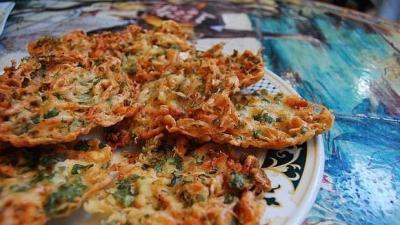 receta tortillitas de camarones