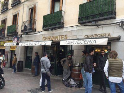 Donde ponen la mejor cerveza en Madrid
