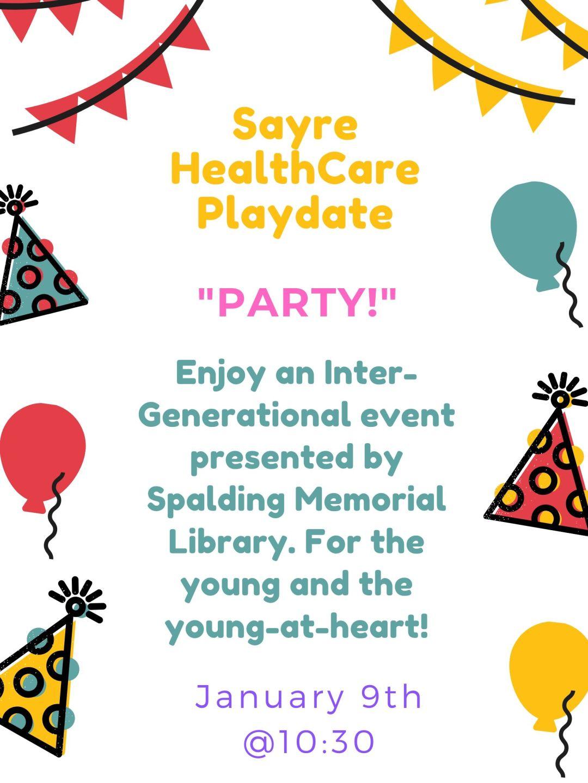 Sayre HealthCare Playdate (2)