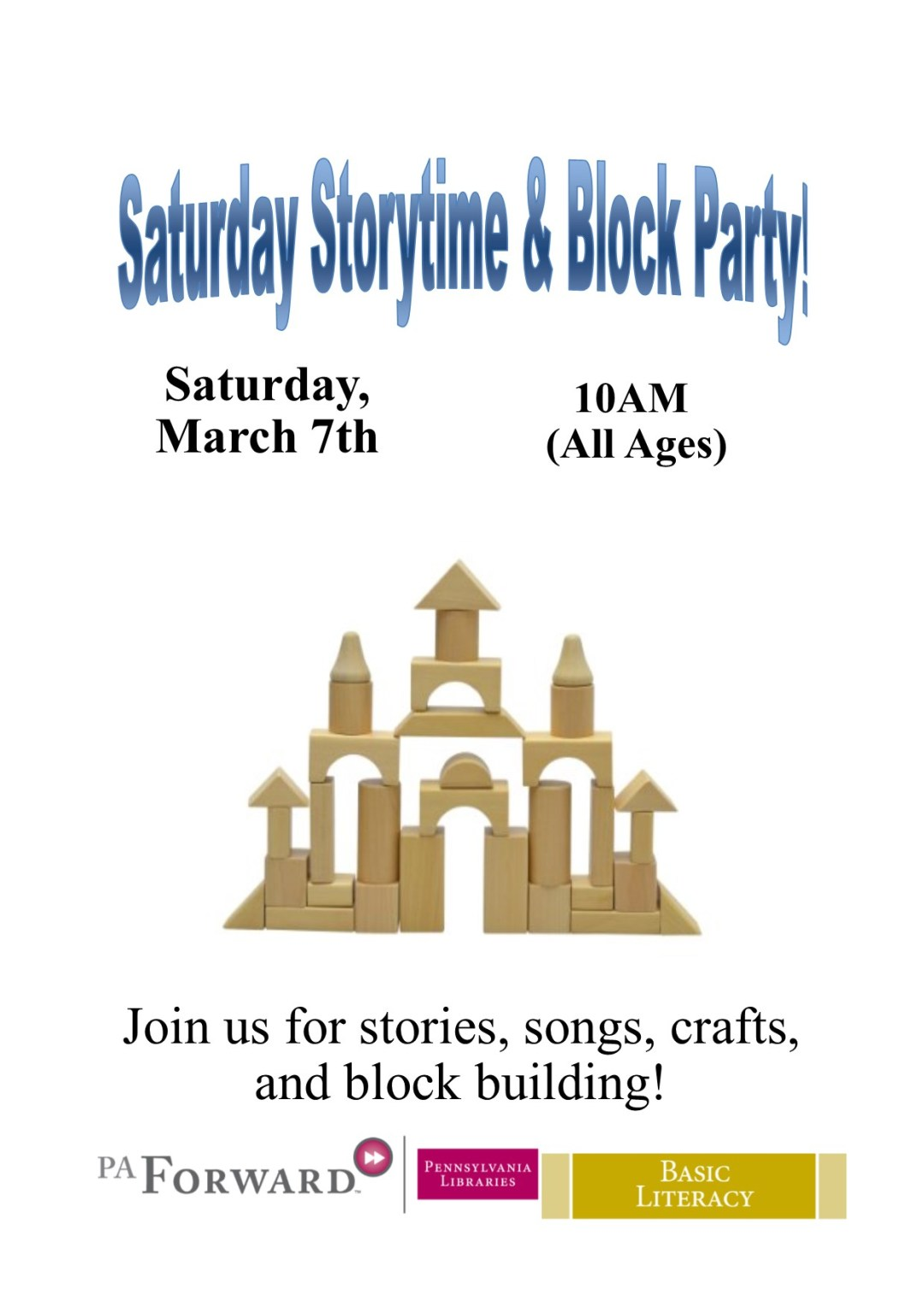Saturday Storytime Block (2)