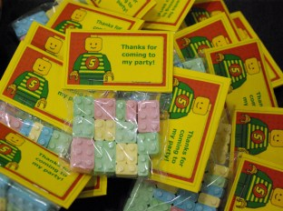 Lego Candy take home gifts
