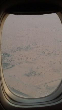 desert around Dubai airport