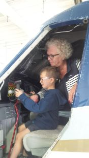 Flying a plane with Grandma