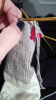 gloves in process