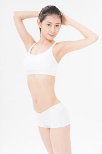 姿勢のいい日本人女性
