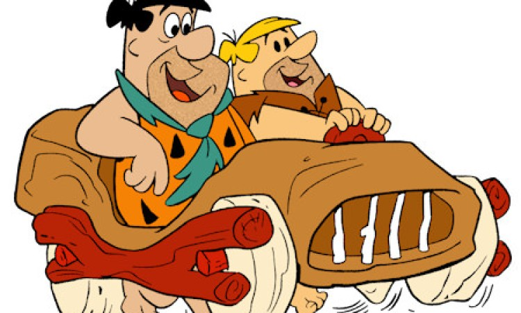 Fred-Flintstone-Barney-Rubble-Car