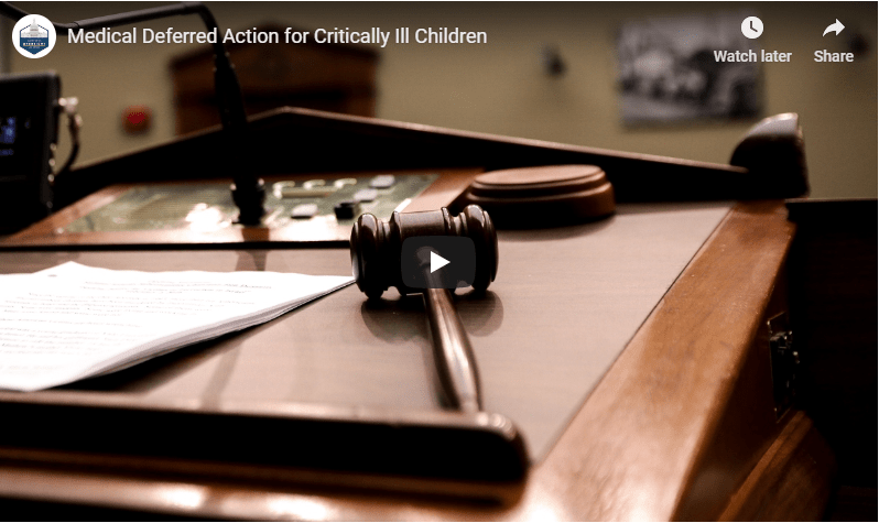 Administration Appears to Reverse Decision to Deport Critically Ill Children After Pressure from Oversight Committee