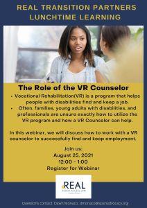 REAL VR Counselor Webinar